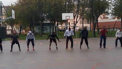 Reportage Canal Coquelicot sur Noisiel Basket