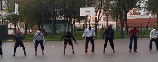 noisiel basket dehors