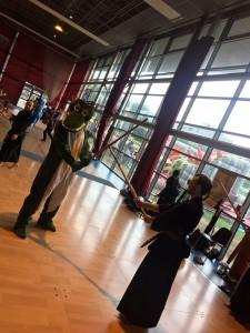 mascotte noisiel basket Kendo