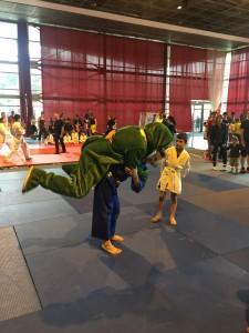mascotte noisiel basket judo