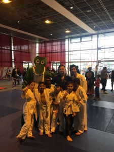 mascotte noisiel basket judo team